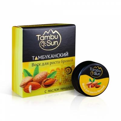 Воск для фиксации бровей «Tambusun» с маслом миндаля 5 мл.