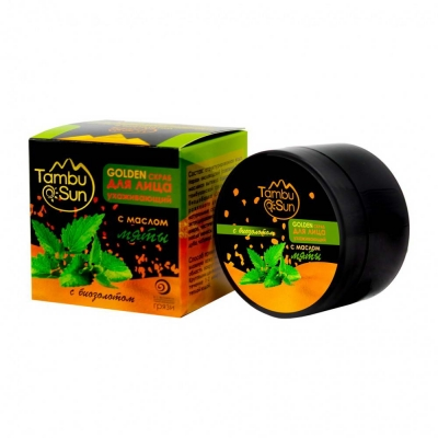 Тамбуканский «GOLDEN скраб» с эфирным маслом мяты 70 мл.