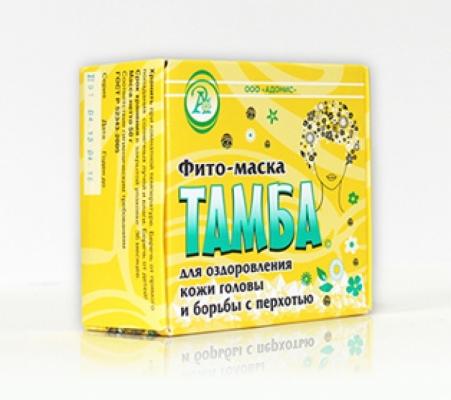 Фито-маска для волос против перхоти т.м. «ТАМБА»