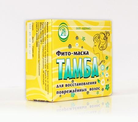 Фито-маска для восстановления поврежденных волос т.м. «ТАМБА»
