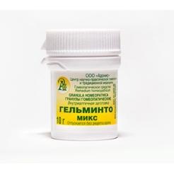 Гранулы гомеопатические «Гельминто-микс»10гр.