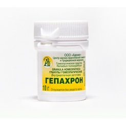 Гранулы гомеопатические «Гепахрон»10гр.