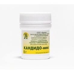 Гранулы гомеопатические «Кандидо-микс»10гр.