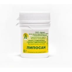 Гранулы гомеопатические «Липосан» 10гр.