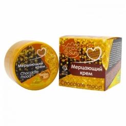 Мерцающий крем «Chokolate mood» для кожи смуглого оттенка «TambuSun» 70 мл.