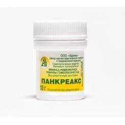 Гранулы гомеопатические «Панкреакс»10гр.