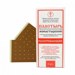 Пластырь монастырский «Разогревающий» 2 шт. «Солох-аул»