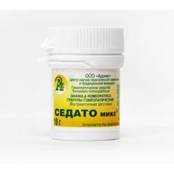 Гранулы гомеопатические «Седато-микс»10гр.